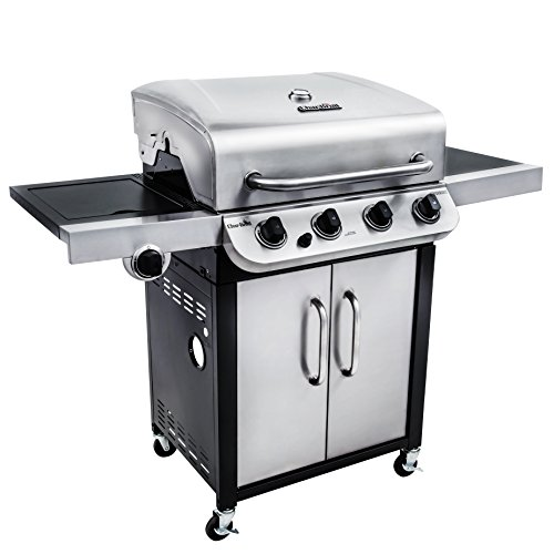 Char Broil Performance 36000 Btu 4 Burner Gas Grill With Side